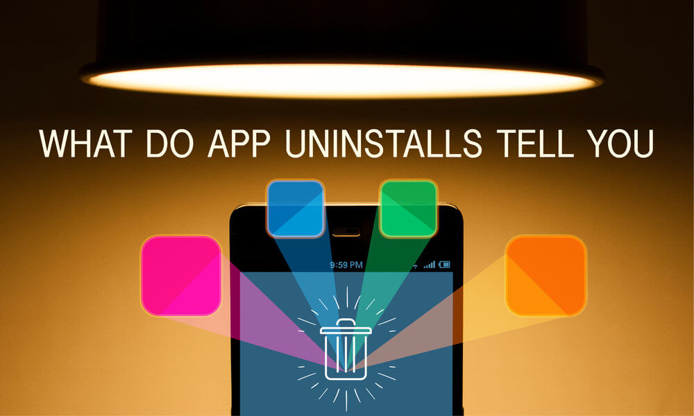 What do app uninstalls tell you techjini for App that tells you what is in a picture